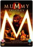 Mummy Trilogy DVD Steelbook UK Import [BST Buy Sell Trade], Engleza, universal pictures