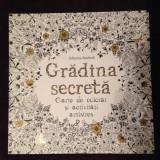 Carte de colorat pentru adulti Gradina Secreta, colorat antistres
