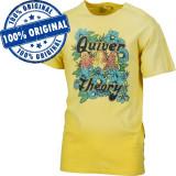 Tricou Vans Quiver Theory pentru barbati - tricou original - bumbac, L, M, S, Maneca scurta, Galben