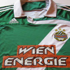 Tricou ADIDAS fotbal - RAPID VIENA (cu dedicatie si autograf)