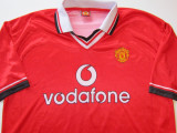 Tricou fotbal - MANCHESTER UNITED (nr.7 Beckham), L, De club