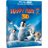 Happy Feet 2 Blu ray 2D Limba Romana [BST Buy Sell Trade], BLU RAY 3D, warner bros. pictures