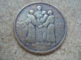 ROMANIA - 20 lei 1930 Hora KN , MIHAI i , L 5.67