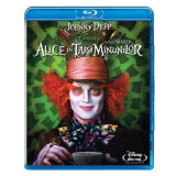 Alice in Wonderland Bluray 2D Limba Romana [BST Buy Sell Trade], BLU RAY, disney pictures