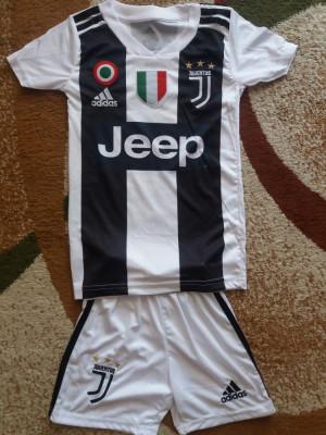 Tricou si short copii Juventus 5-13 ani foto