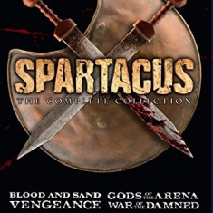 Film Serial Spartacus : The Complete Collection Seasons 1-4 DVD Box Set