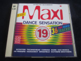 Various - Maxi Dance Sensation 19 _ Ariola ( Germania , 1995 ), CD