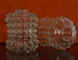 Abajur de sticla pentru lustre, lampi sau veioze ( Abajururi 2 bucati ) #661