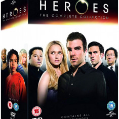 Film Serial Heroes: The Complete Collection DVD Box Set, SF, Engleza, independent productions