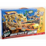 Hot Wheels - Set Trick Track Jurassic, Hot Wheels
