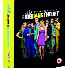Film Serial The Big Bang Theory : Seasons 1-10 DVD Box Set