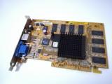 Placa video AGP 4X Asus V7100 Pro nVidia GeForce2 MX400 64Mb