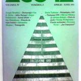 Revista Agora volumul IV Nr. 2 aprilie - iunie 1991 Dorin Tudoran Mircea Mihăieș