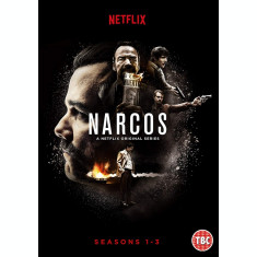 Film Serial Narcos DVD Seasons 1-3 Complete Collection