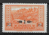 Albania 1924, Nestampilat