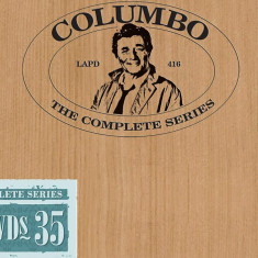 Film Serial Columbo - Seasons 1-10 DVD Box Set Complete Collection, Politist, Engleza, independent productions