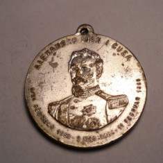 Medalie Alexandru Ioan Cuza IASI 1912