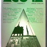 Revista Agora volumul V Nr. 2 aprilie - iunie 1992 Dorin Tudoran V. Tismaneanu