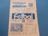 Program meci fotbal DUNAREA CSU GALATI - PETROLUL PLOIESTI(12.05.1985)