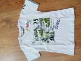 Tricou maneca scurta copii, 2 ani - NOU, cu eticheta, 2-3 ani, Alb