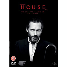 Film Serial Dr.House: The Complete Seasons 1-8 DVD Complete Collection