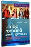 Limba romană pentru gimnaziu. Gramatică, fonetică, vocabular, ortografie şi ortoepie