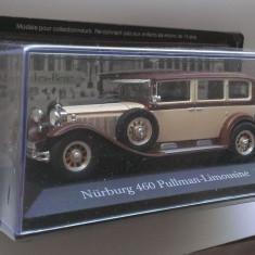 Macheta Mercedes Nurburg 460 Pullman Limousine 1929 - Altaya 1/43