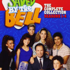 Film Serial Saved By The Bell / Salvati de clopotel : DVD Box Set Seasons 1-4, Comedie, Engleza, independent productions