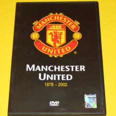 DVD fotbal - Istoria clubului MANCHESTER UNITED (1878-2002)