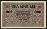 Y352 ROMANIA 1000 LEI 1917 BGR  NECIRCULATA UNC