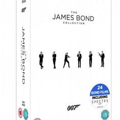 Filme The James Bond Collection 1-24 DVD Box Set Original Si sigilat, Engleza, independent productions
