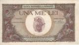 Bancnota veche de 1000 de lei pentru colectionari din 1939