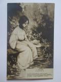 Rara! Carte postala Vasile Alecsandri-Puntea,Scharaga Bucuresci cca.1900