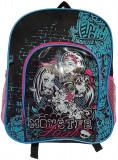 Ghiozdan , Monster High , 10x26x33 cm, Unisex, Multicolor