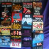 JACK HIGGINS -Toate volumele apărute în limba română. Stare impecabilă