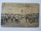 Rara! Carte postala Regele Carol I-Razboiul Romano-Bulgar 3 Julie 1913