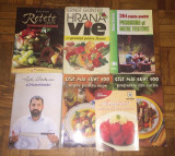 Colectie 7 carti gastronomie, retete