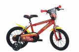 Bicicleta copii 16'' CARS MOVIE, Dino Bikes