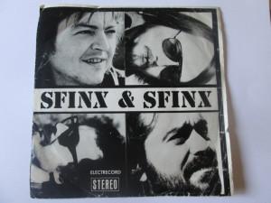 Rar! Vinil single 7'' Sfinx & Sfinx-Focuri vii in stare buna,Electrecord 1981