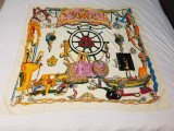 ESARFA  DAMA MATASE MODEL HERMES, Multicolor