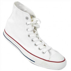 Tenisi Femei Converse All Star HI Optical White M7650, 35, 36, 36.5, 37, 37.5, 38, 38.5, 39, 39.5, 40, 41, 41.5, 42, 42.5, 43, 44, 44.5, 45, 46, Alb