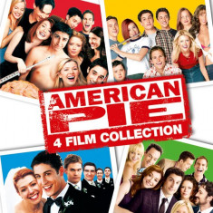 American Pie 4 film Collection blu ray, Engleza