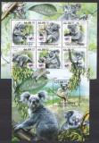 DB Fauna Urs Koala Mozambic 1 MS + 1 SS MNH, Nestampilat
