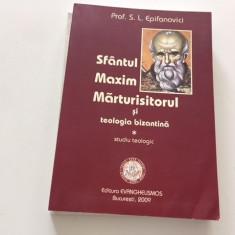 SF MAXIM MARTURISITORUL SI TEOLOGIA BIZANTINA. STUDIU TEOLOGIC