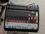 Pachet Mixer Amplificat Behringer PMP6000 cu Boxe (dynacord.g rcf, fbt, ev)