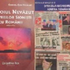 Razboiul nevazut al evreilor sionisti cu romanii (vol. I + II)-Cornel D. Niculae