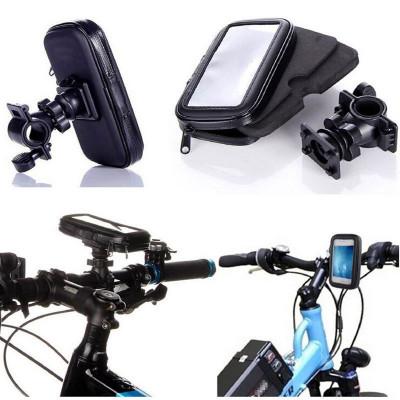 Suport Telefon Universal XXL pt Bicicleta – Motocicleta  Impermeabil C193 foto