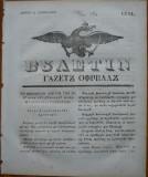 Ziarul Buletin , gazeta oficiala a Principatului Valahiei , nr. 10 , 1841