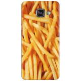 Husa silicon pentru Samsung Galaxy A7 2016, Fries
