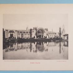 Expozitia 1906 Bucuresti - Palatul Austriei - 17x13 cm